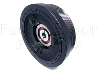 FF004980 - Crankshaft Damper & Pulley Assy - TD5 - Land Rover Discovery Series II