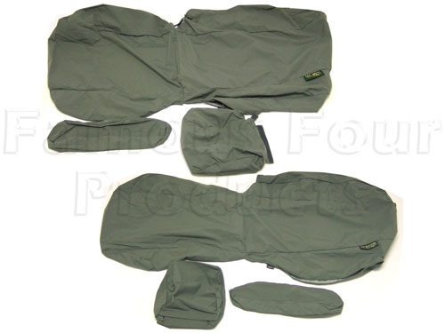 Waterproof Seat Cover Set -  -