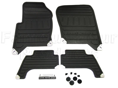 Rubber Footwell Mat Set