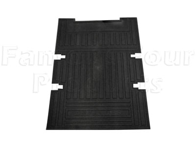 FF005091 - 90 Rear Loadspace Floor Mat - Land Rover 90/110 and Defender