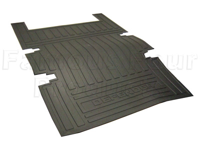 FF005094 - 110 Rear Loadspace Rubber Mat  	  - Land Rover 90/110 and Defender