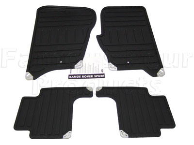 Picture of FF005117 - Rubber Footwell Mat Set