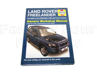 land rover freelander workshop manual pdf
