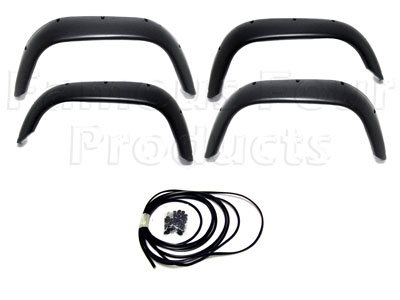 Flexible Wide Wheel Arch Kit - 2 inch Extended