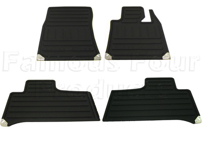 Rubber Footwell Mat Set -  -