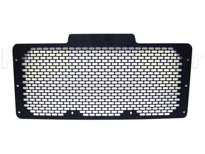 FF005223 - Front Grille - Black Metal Td5 Style - (Not TD5 with air con) - Land Rover 90/110 and Defender