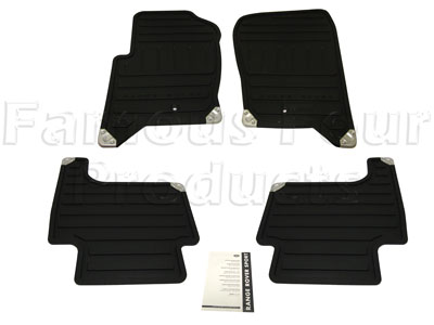 Picture of FF005228 - Rubber Footwell Mat Set