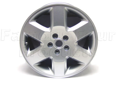 Alloy Wheel 8x19 Silver Sparkle