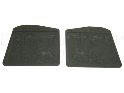 Mudflap Rubbers Only - Front -  -