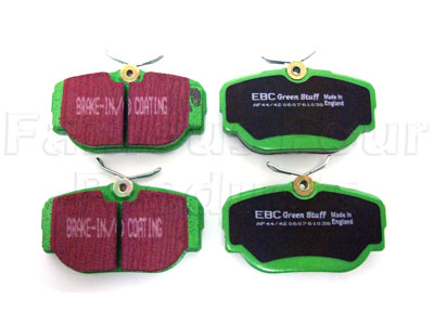Picture of FF005322 - Green Stuff Rear Brake Pads