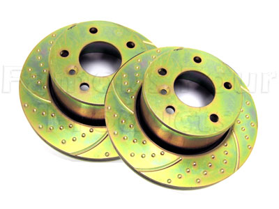 Picture of FF005324 - Rear Brake Discs
