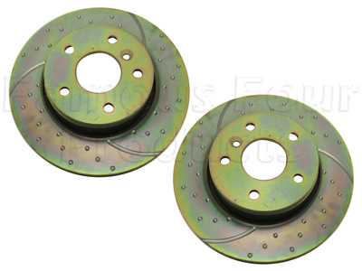 Picture of FF005325 - Performance Front Brake Discs