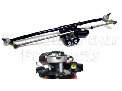 Windscreen Wiper Mechanism Assembly - Front -  -