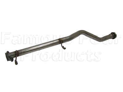 Picture of FF005353 - Stainless Steel Link Pipe - Replaces Front Silencer