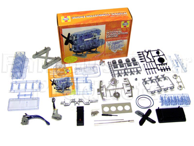 Haynes Build Your Own Model Internal Combustion Engine Kit