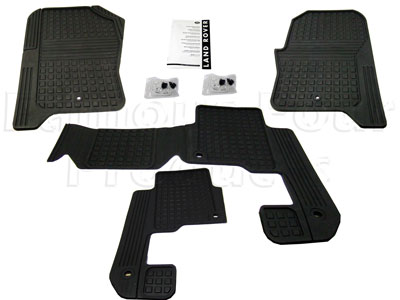 Picture of FF005436 - Rubber Footwell Mat Set