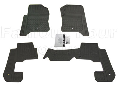 Picture of FF005437 - Rubber Footwell Mat Set