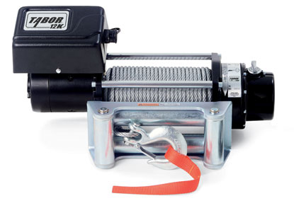 TABOR 12K Self-Recovery Winch 12 Volt