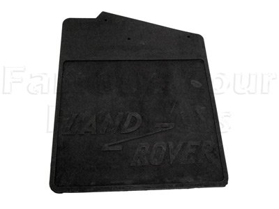 Mudflap Rubber - Rear Left Hand 90 -  -
