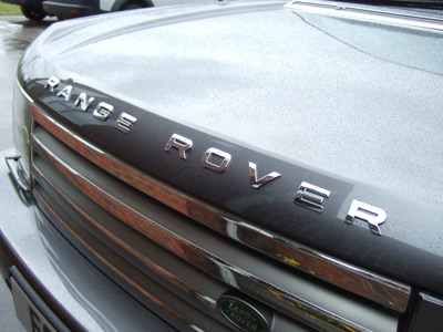 Chrome Bonnet Lettering