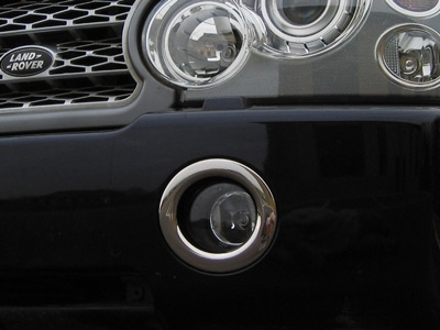 Picture of FF005492 - Chrome Front Fog Lamp Surrounds