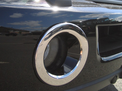 Picture of FF005493 - Chrome Front Fog Lamp Surrounds