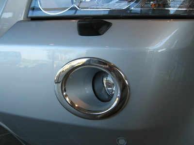 Picture of FF005494 - Chrome Front Fog Lamp Surrounds