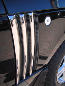 Picture of FF005553 - Chrome Effect Triple Side Vent Covers