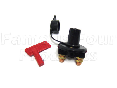 Battery Isolator Switch - Land Rover and Range Rover