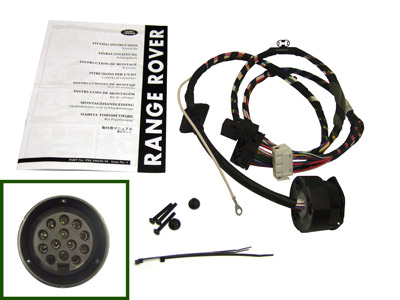 Picture of FF005572 - 13-pin Euro Towing Electrics - plug-in