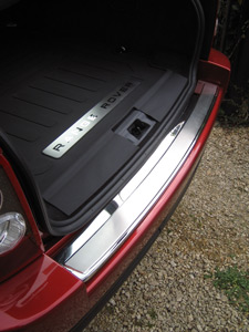 Rear Bumper Step Cover - Chrome Effect