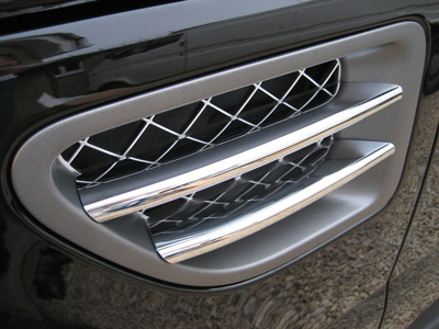 Picture of FF005688 - Side Vent Blade Covers - Chrome Effect