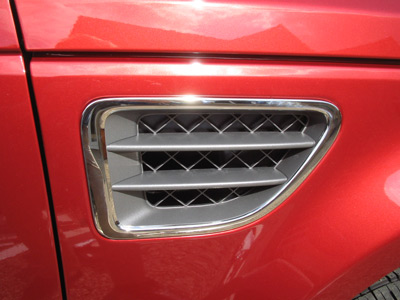 Picture of FF005689 - Side Vent Surround Covers - Chrome Effect