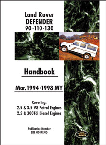 Picture of FF005706 - Land Rover 90/110 Owners Handbook
