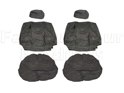 Picture of FF005708 - Tailored Waterproof Front Seat Covers - 2 Seats - Defender