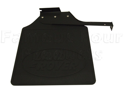 Picture of FF005754 - Mudflap Rubber & Bracket - Rear Left Hand