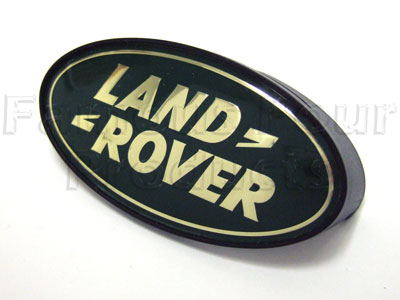 Picture of FF005756 - Oval Logo Clip-on Land Rover Grille Badge