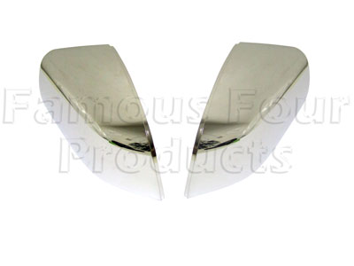 Picture of FF005764 - Chrome Finish Door Mirror Covers