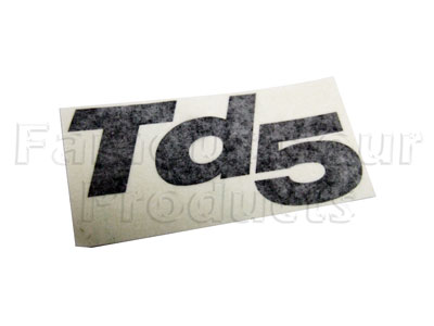 Picture of FF005926 - Badge - Td5 - Black