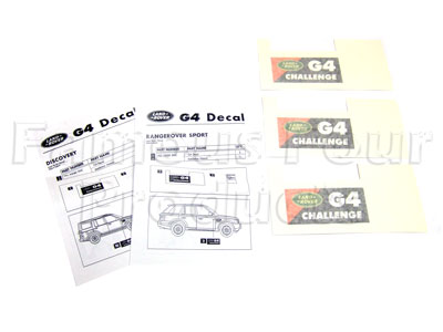 G4 Decal Set -  -