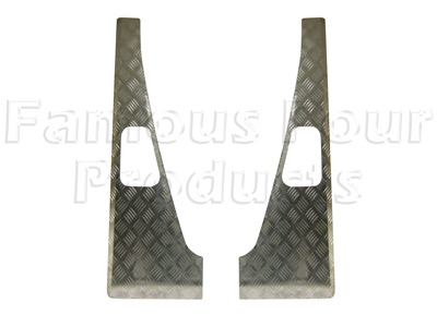 90/110 Chequerplate Wing Top Treadplates