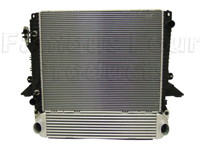 Picture of FF005977 - Radiator - TDV6 Automatic