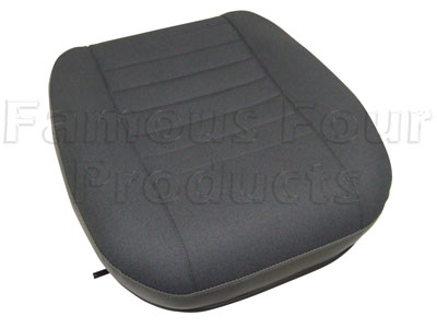 Picture of FF006003 - Seat Base Dark Granite Twill Vinyl Outer