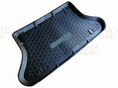 Load Liner - Moulded Rubber - Half Length