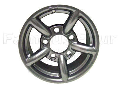 Picture of FF006082 - ZU Alloy Wheel 7 x 16  - Anthracite
