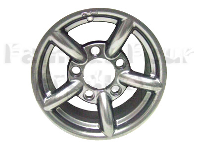 ZU Alloy Wheel 7 x 16 - Silver