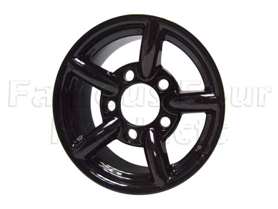 ZU Alloy Wheel 7 x 16 - Gloss Black