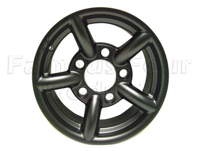 ZU Alloy Wheel 7 x 16 - Matt Black