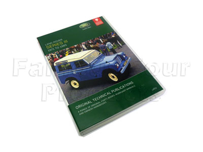 Picture of FF006116 - DVD - Parts Catalogue/Service Publications/Owners Handbooks