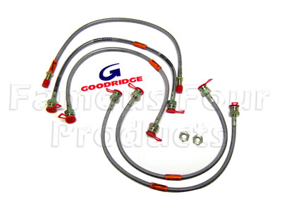 Picture of FF006143 - 5-Hose Braided Brake Flexi-Hose Kit